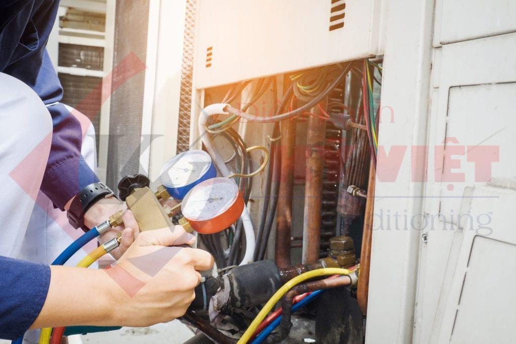 Bảo trì máy lạnh tại các quận TpHCM