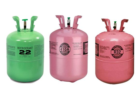Các loại gas máy lạnh phổ biến