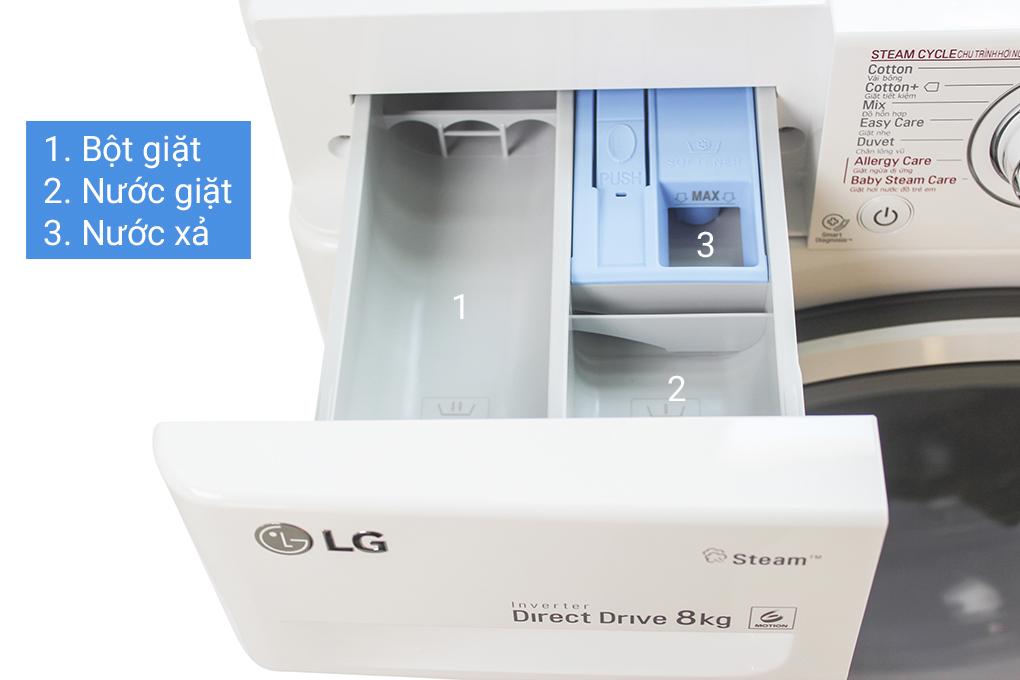 Cách dùng máy giặt LG lồng ngang