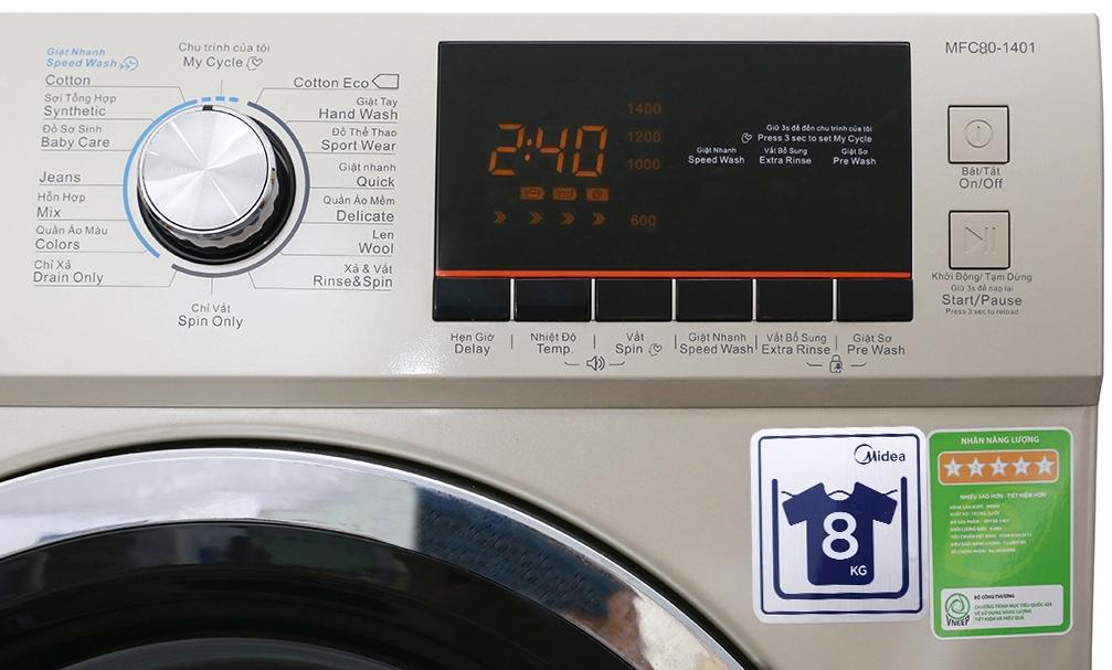 Đánh giá về máy giặt Midea