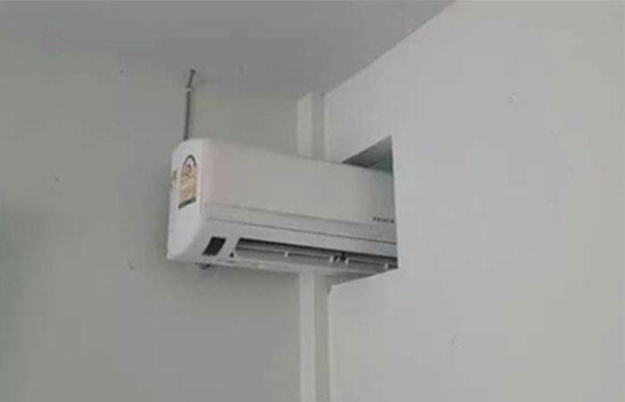lắp 1 máy lạnh cho 2 phòng