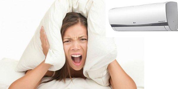 máy lạnh chạy ồn
