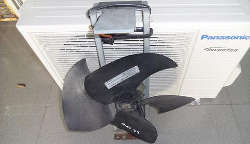 Quạt dàn nóng máy lạnh bị hư