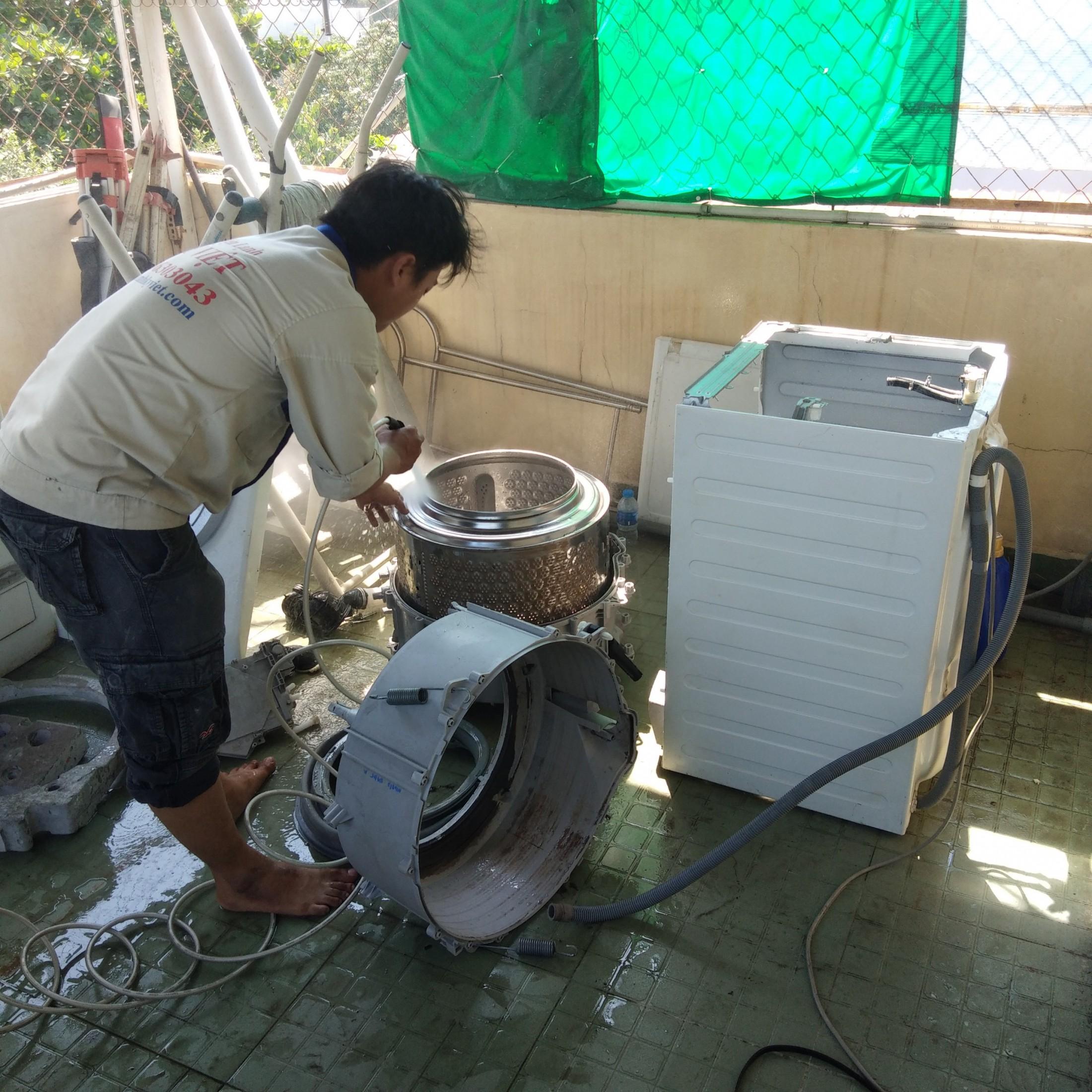 Vệ sinh máy giặt uy tín tại TpHCM