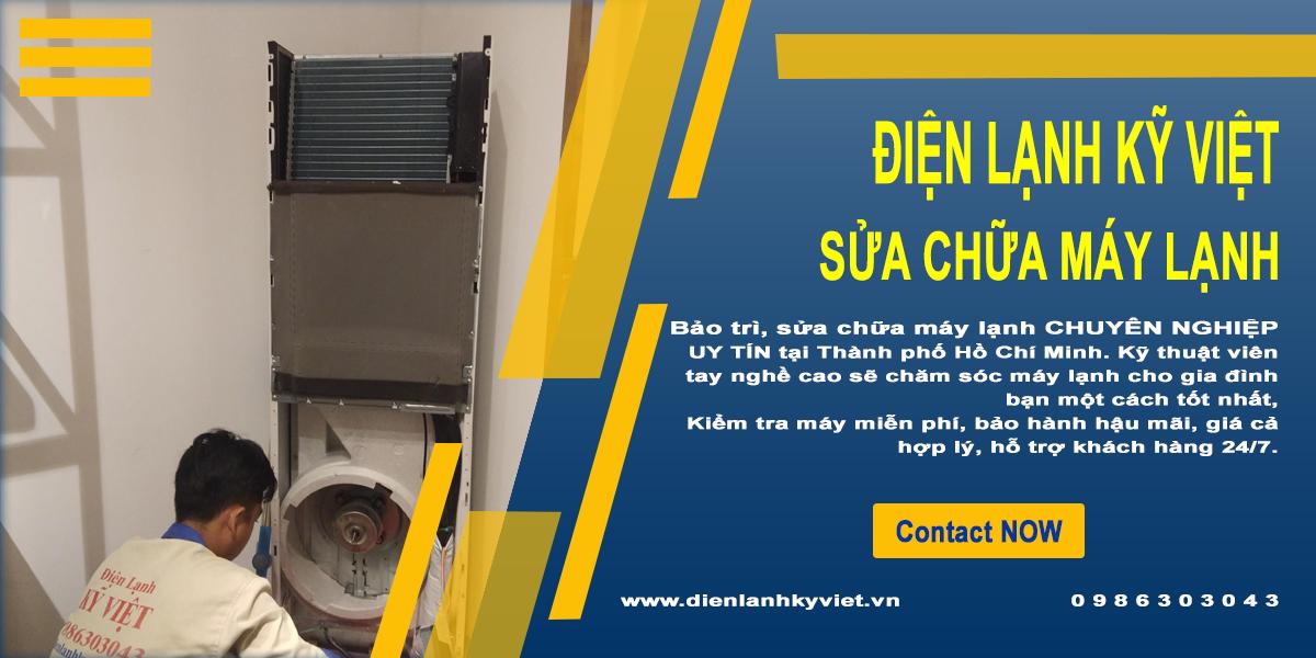 Sửa chữa máy lạnh chuyên nghiệp tại TpHCM