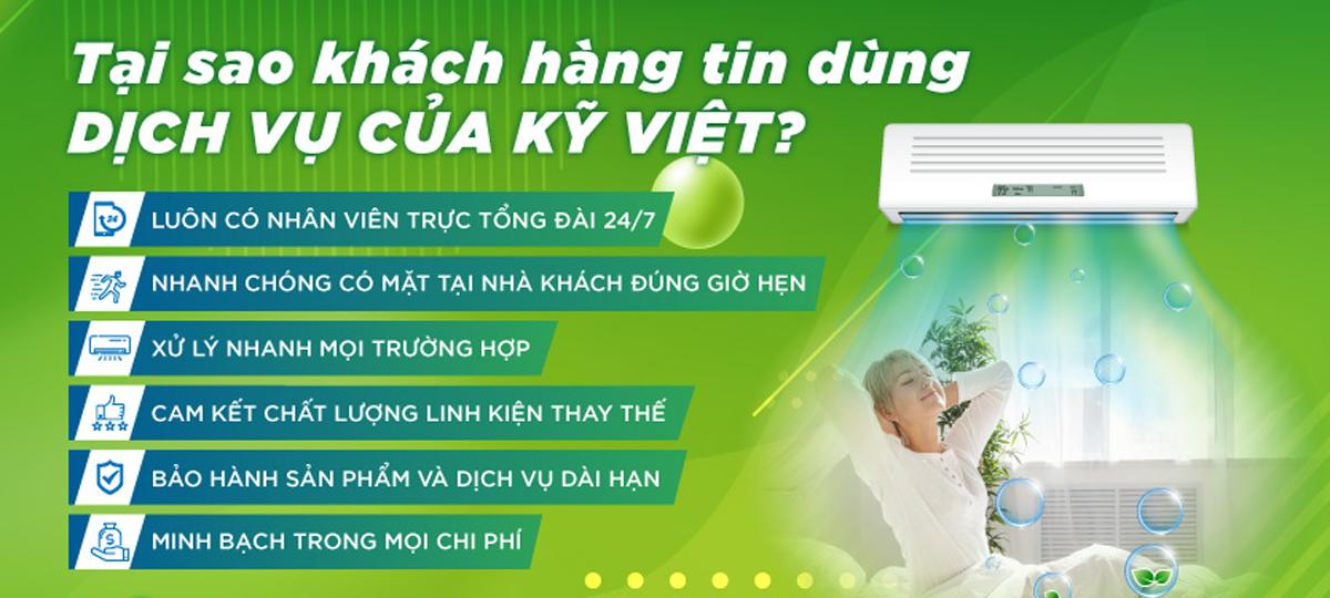 Tại sao khách hàng chọn Điện Lạnh Kỹ Việt