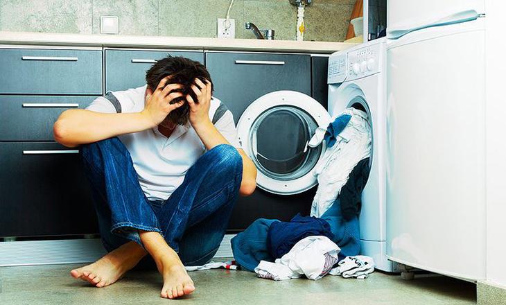 Tại sao máy giặt không xả nước?